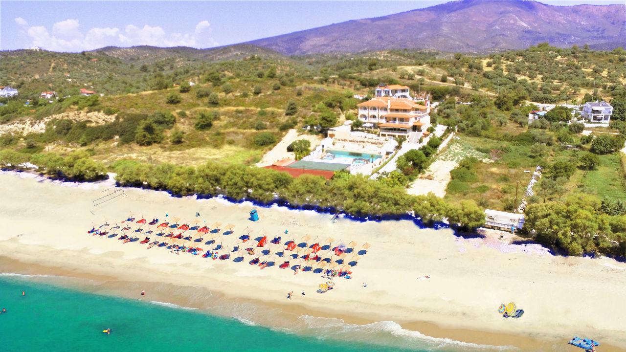 Grand Beach Hotel Limenaria Holidaycheck Thassos Griechenland