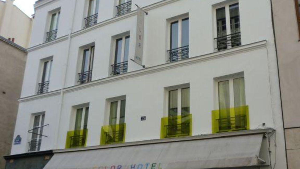 Color design hotel in paris holidaycheck gro raum for Color design hotel paris