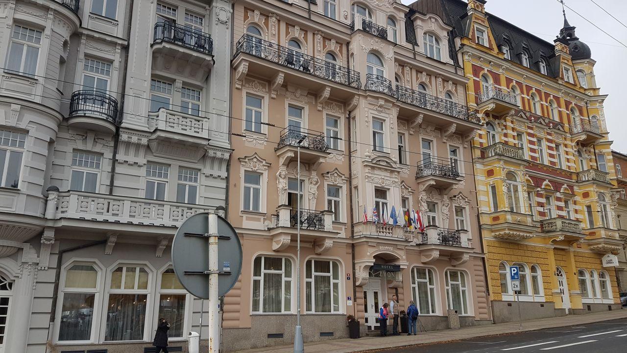 Palace Hotel In Marienbad