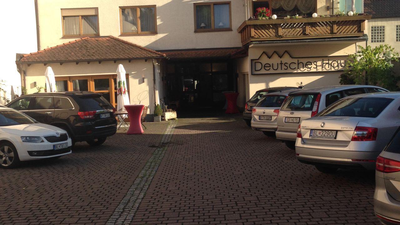 Hotel Deutsches Haus Kitzingen • HolidayCheck Bayern