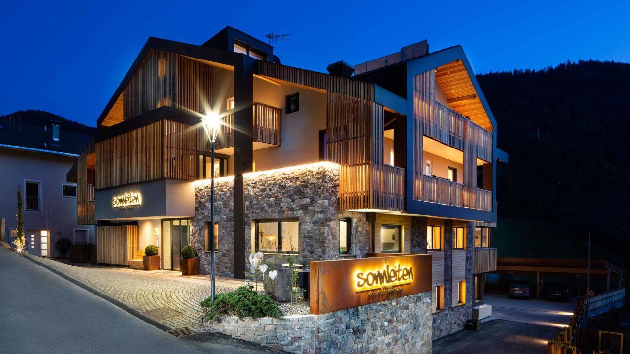Sonnleiten Dolomiten Residence Ferienwohnungen Südtirol