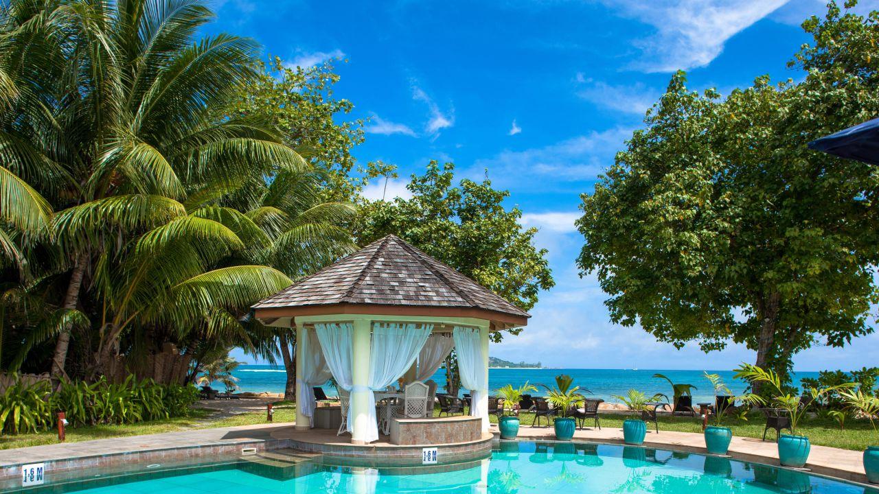 castello beach hotel anse kerlan holidaycheck praslin. Black Bedroom Furniture Sets. Home Design Ideas
