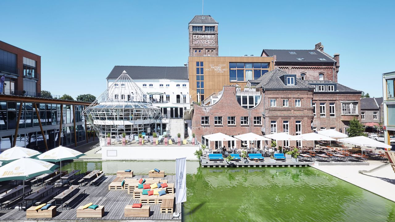 Factory hotel m nster in m nster holidaycheck for Moderne hotels nrw
