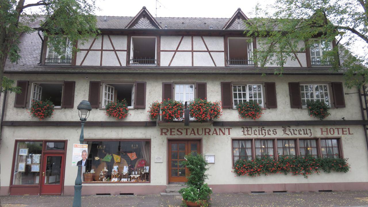Hotel Weisses Kreuz Schluesselstrasse   Neuenburg Am Rhein Deutschland