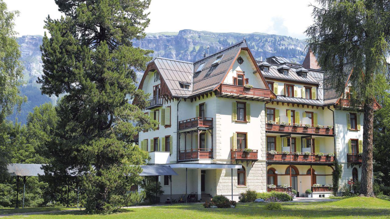 Waldhaus Flims Alpine Grand Hotel Spa Villa Silvana Flims