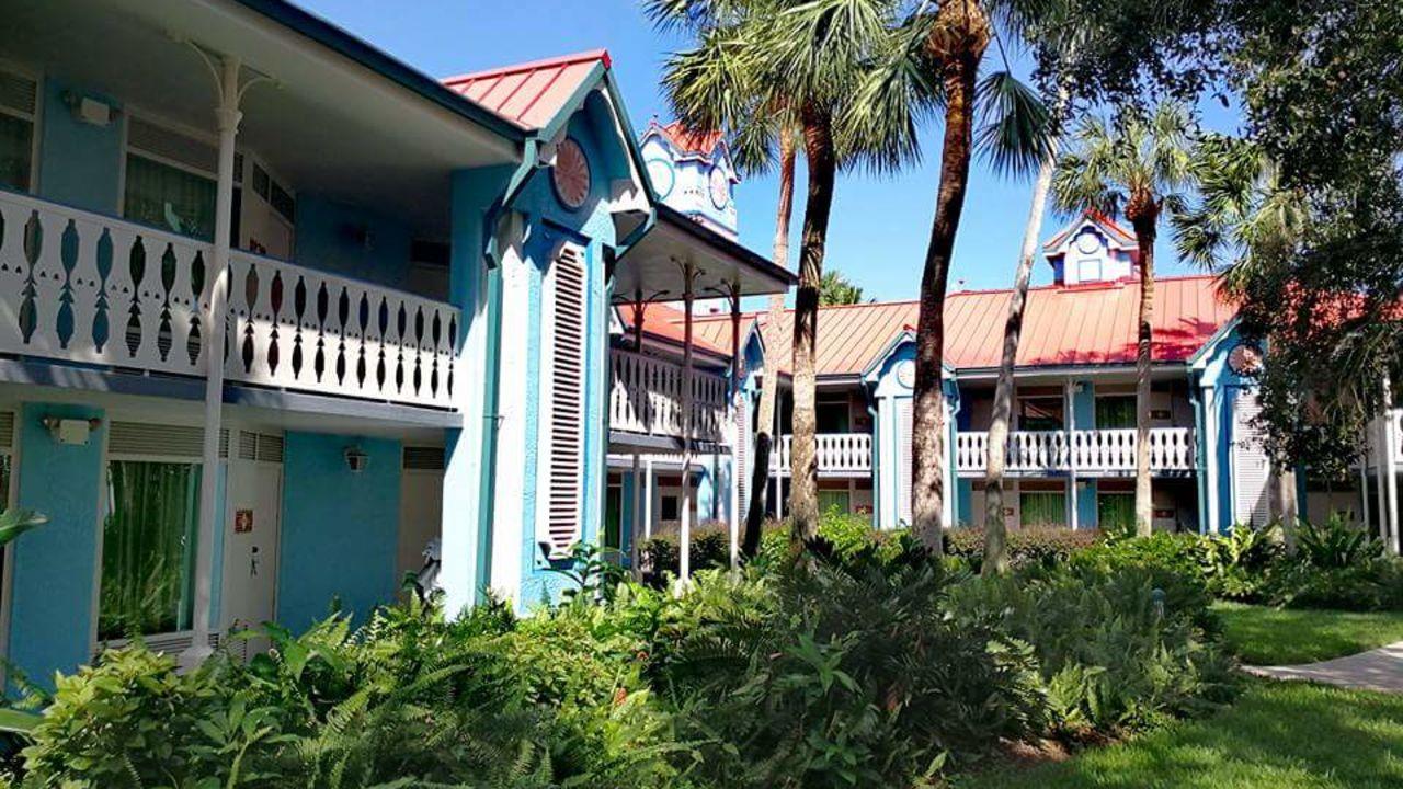 Disney S Caribbean Beach Resort Lake