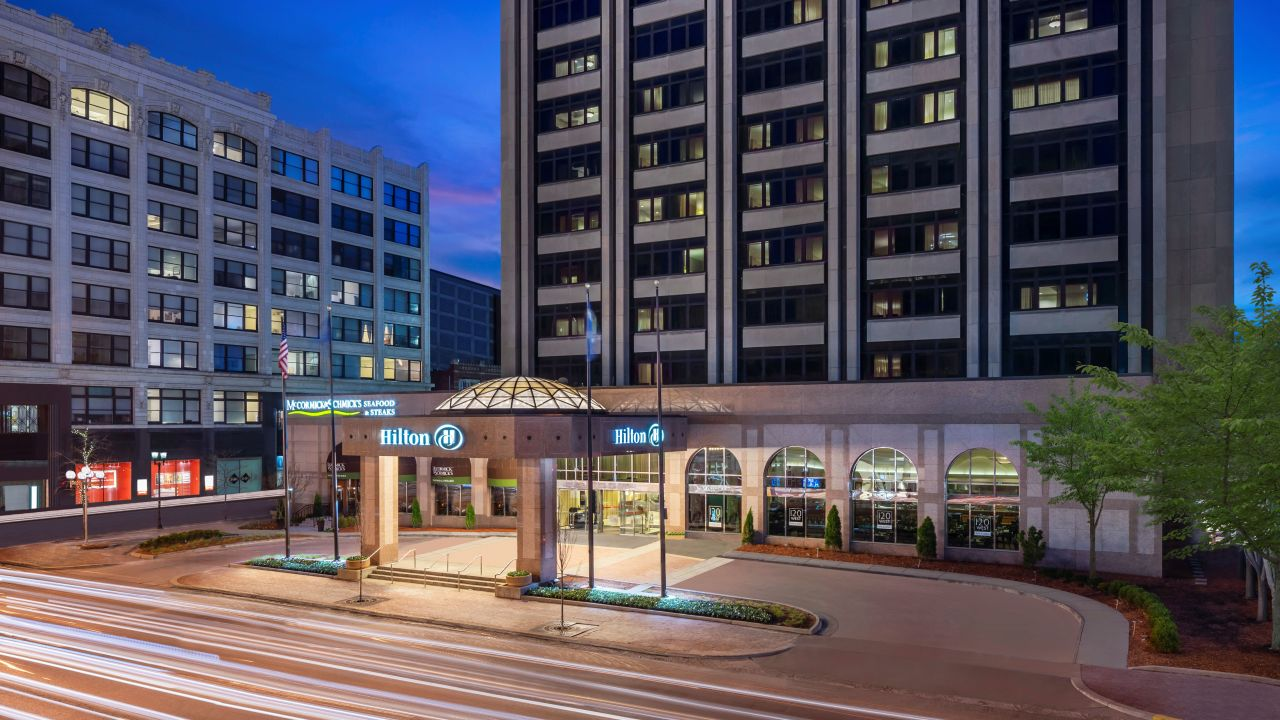 Hotel Hilton Indianapolis Indianapolis Holidaycheck Indiana Usa