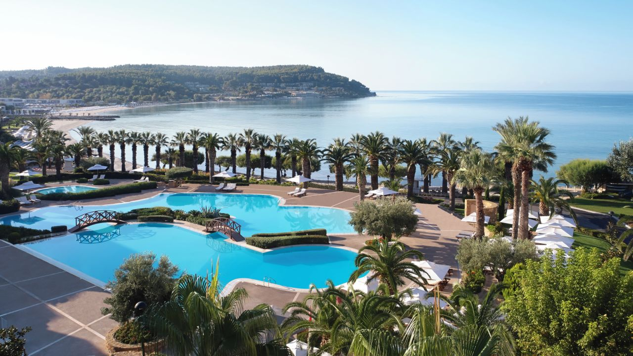 Sani beach cap sani holidaycheck chalkidiki for Top hotels griechenland
