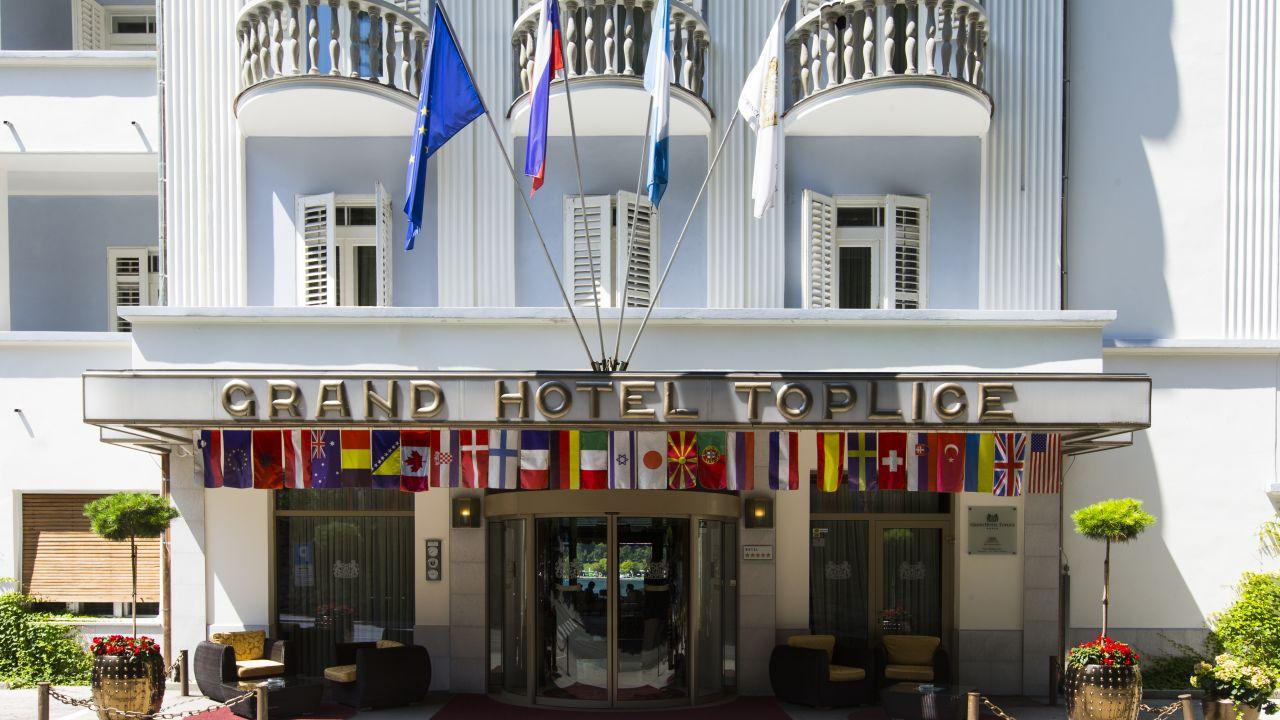 Grand Hotel Toplice Bled Slowenien