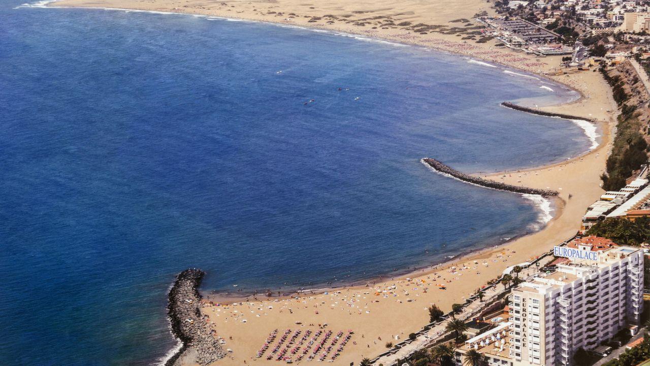 Hotel Europalace Playa Del Ingles Gran Canaria Spanien
