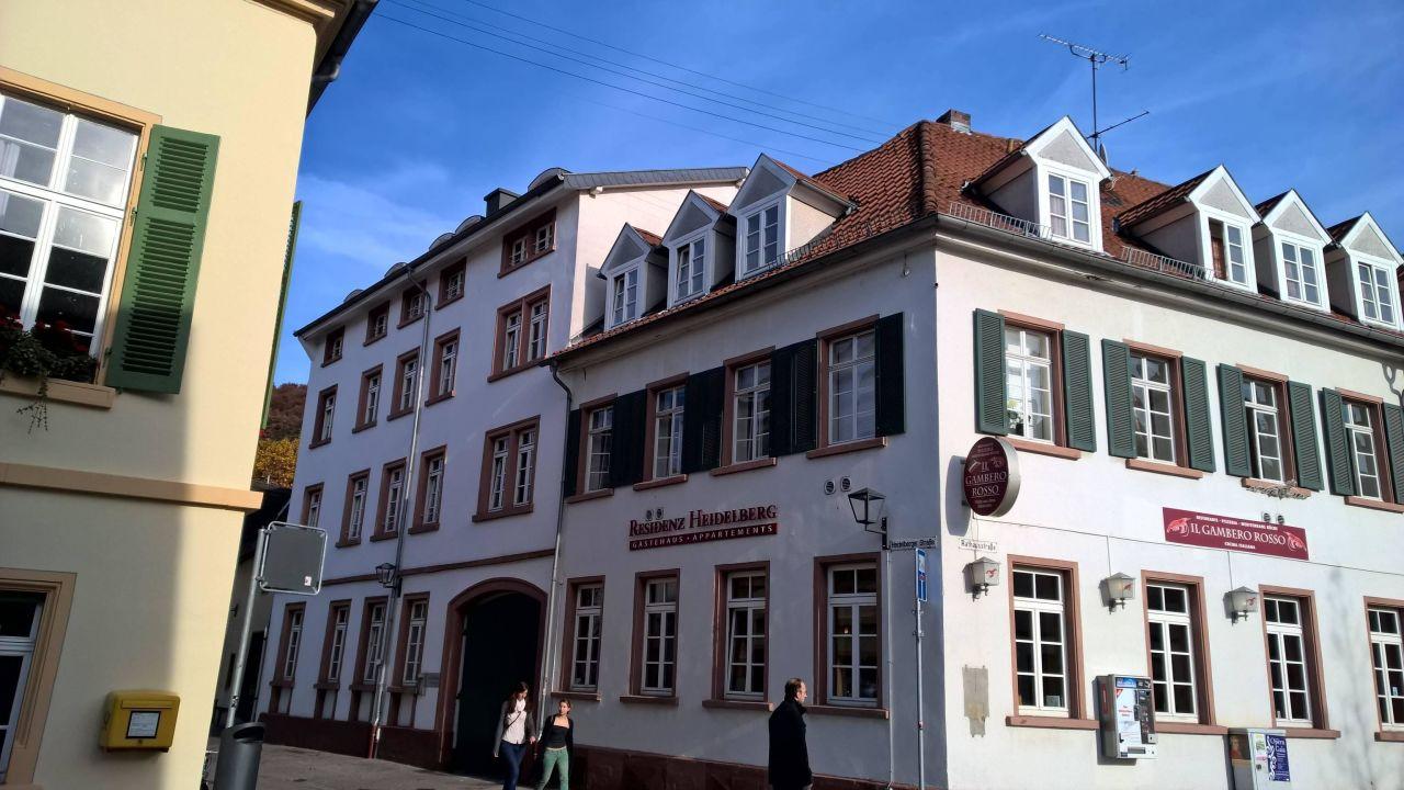 Apartments Residenz Heidelberg Heidelberg Holidaycheck Baden