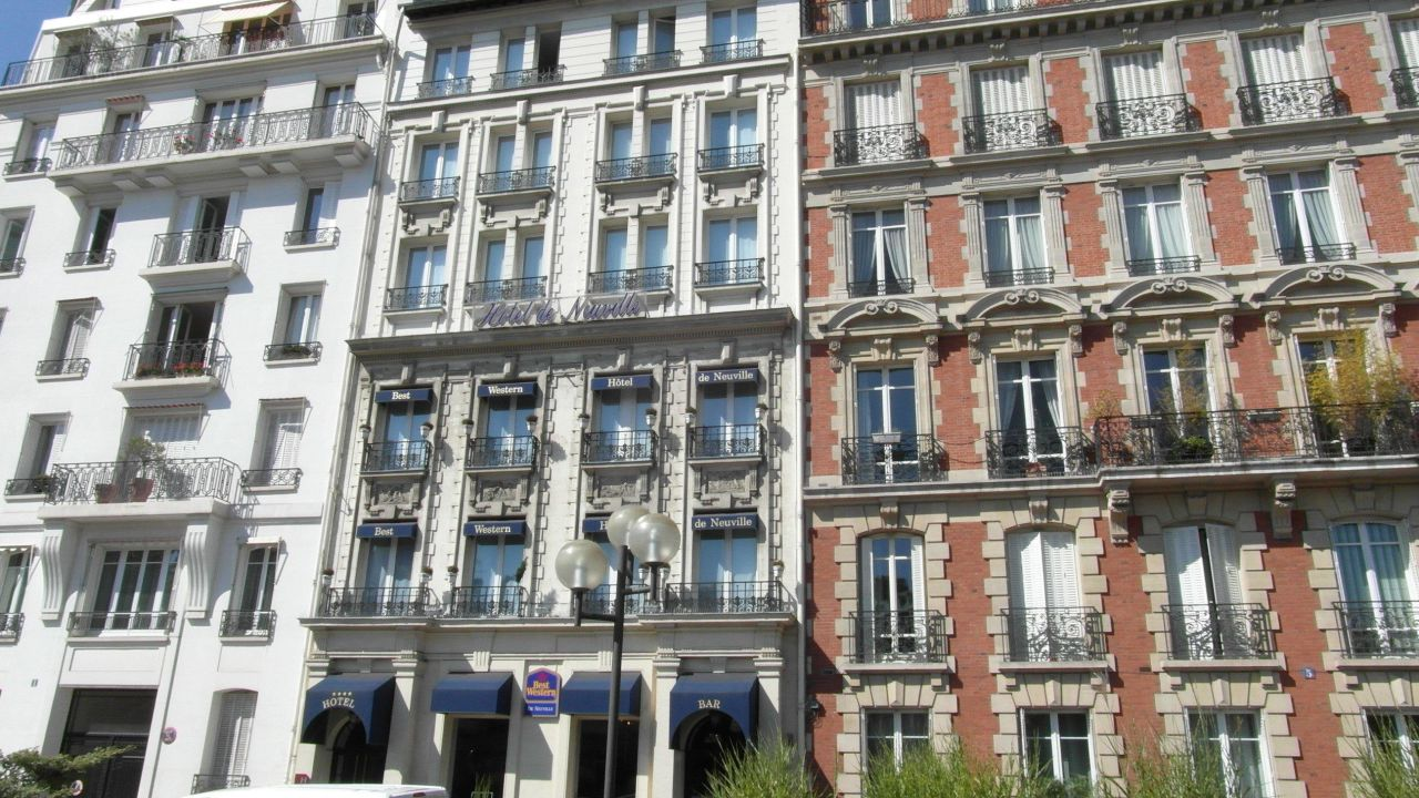 Best Western Hotel De Neuville Paris