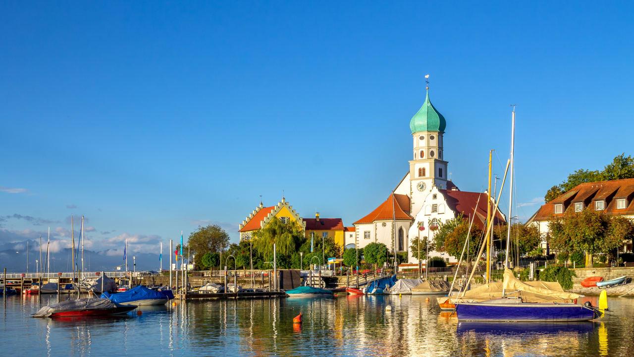 Wasserburg, Bodensee, Deutschland