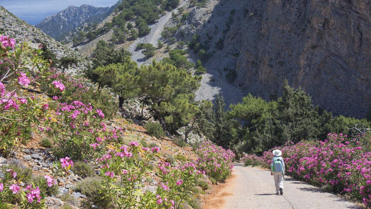 Samaria Schlucht, Agia Roumeli, Kreta