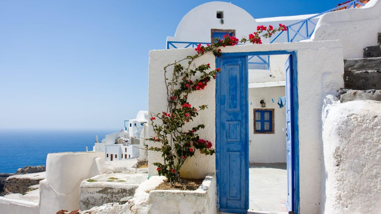 Häuser, Griechische Inseln, Kykladen, Griechenland