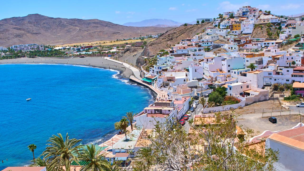 Las Playitas, Fuerteventura, Spanien