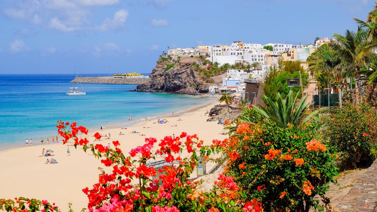 Morro Jable, Fuerteventura, Spanien