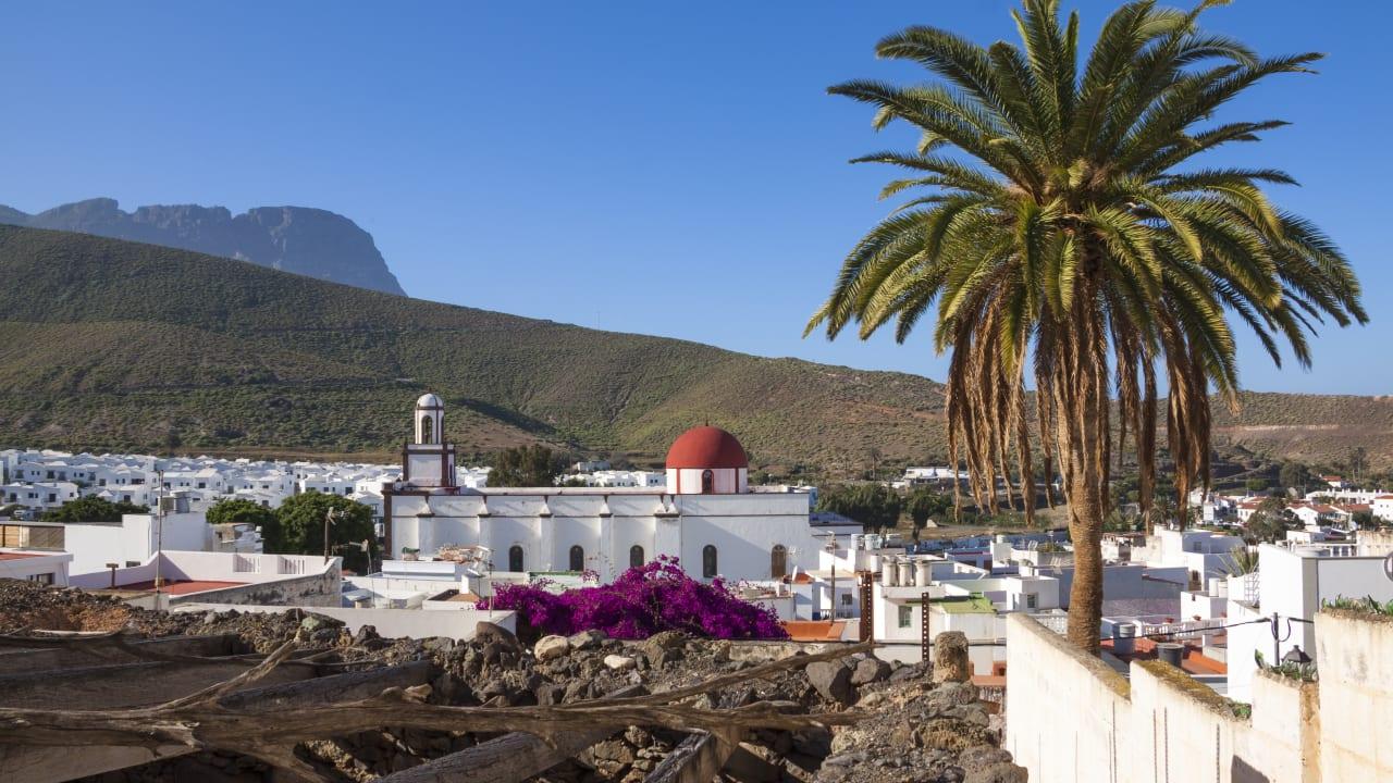 Stadt Agaete, Gran Canaria, Spanien