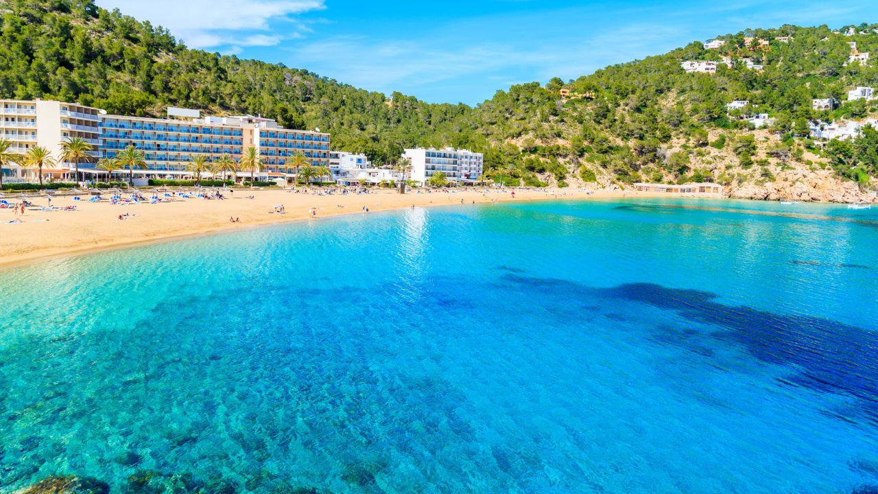 Cala San Vicente, Ibiza, Spanien