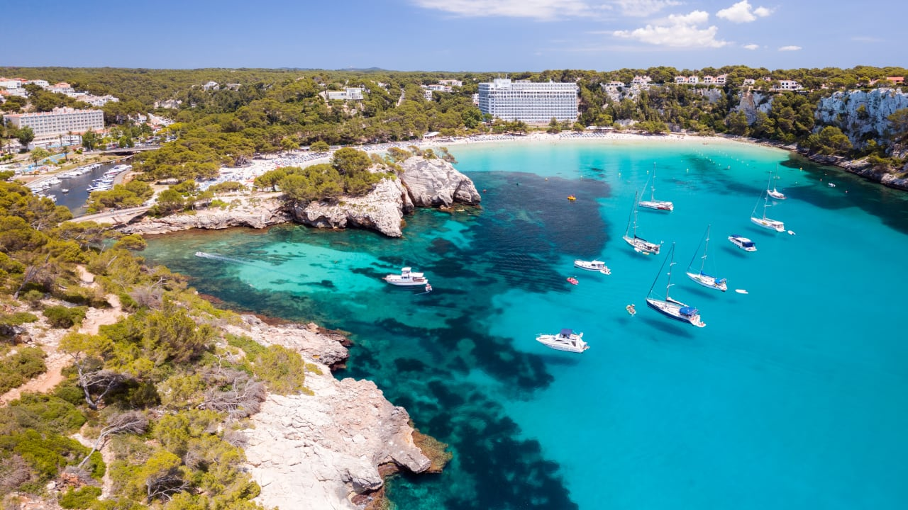 Cala Galdana, Menorca, Spanien