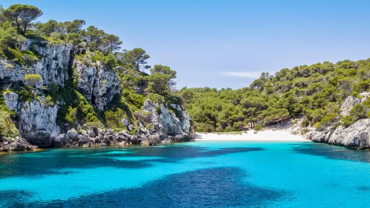 Cala Macarelleta, Menorca, Spanien