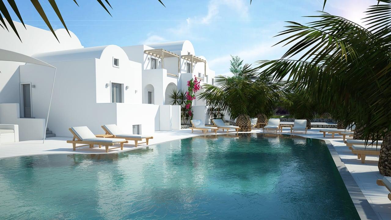 Hotel Strogili Kamari • HolidayCheck Santorini   Griechenland