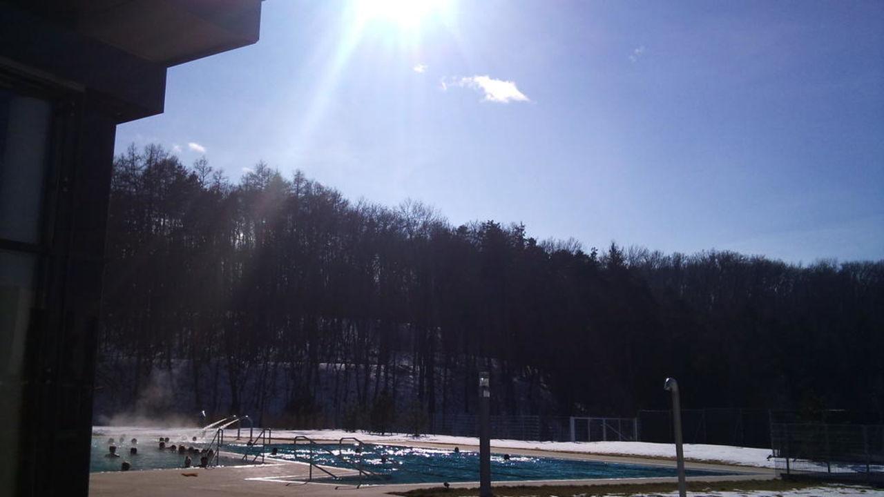 Außenbecken der Therme Hotel & Spa Linsberg Asia