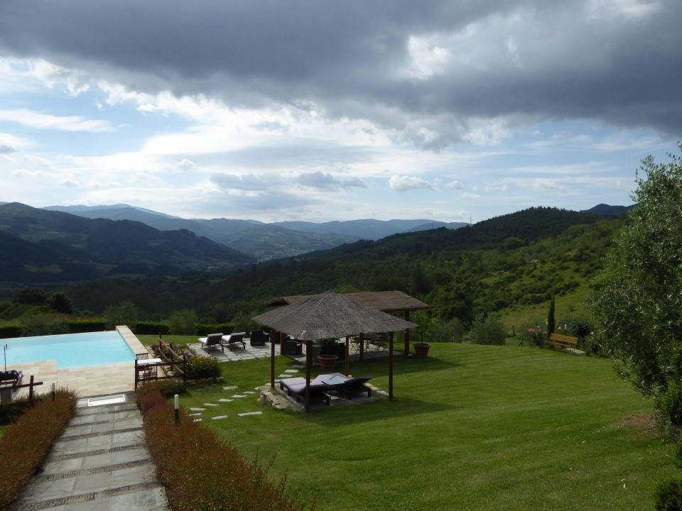 Weg zum Pool Apartments Vita Nova Casa Vacanze