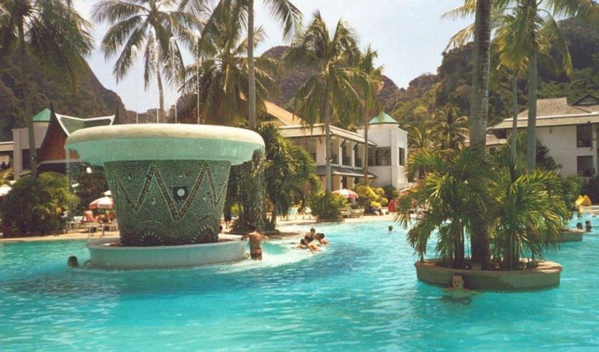 Phi Phi Island Cabana Hotel, der Pool Phi Phi Island Cabana Hotel