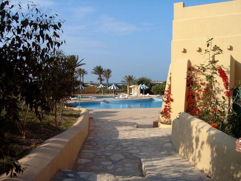 Zugang zum Bungalow-Dorf Vendome El Ksar Resort & Thalasso