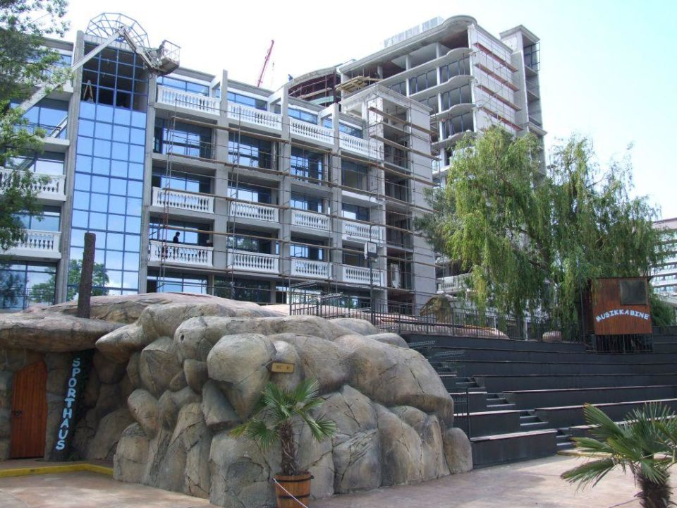 Sporthaus und Baustelle DAS Club Hotel Sunny Beach