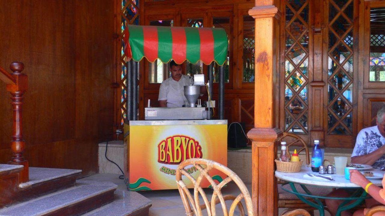 Donut-Maschine im Oasis-Restaurant Siva Grand Beach