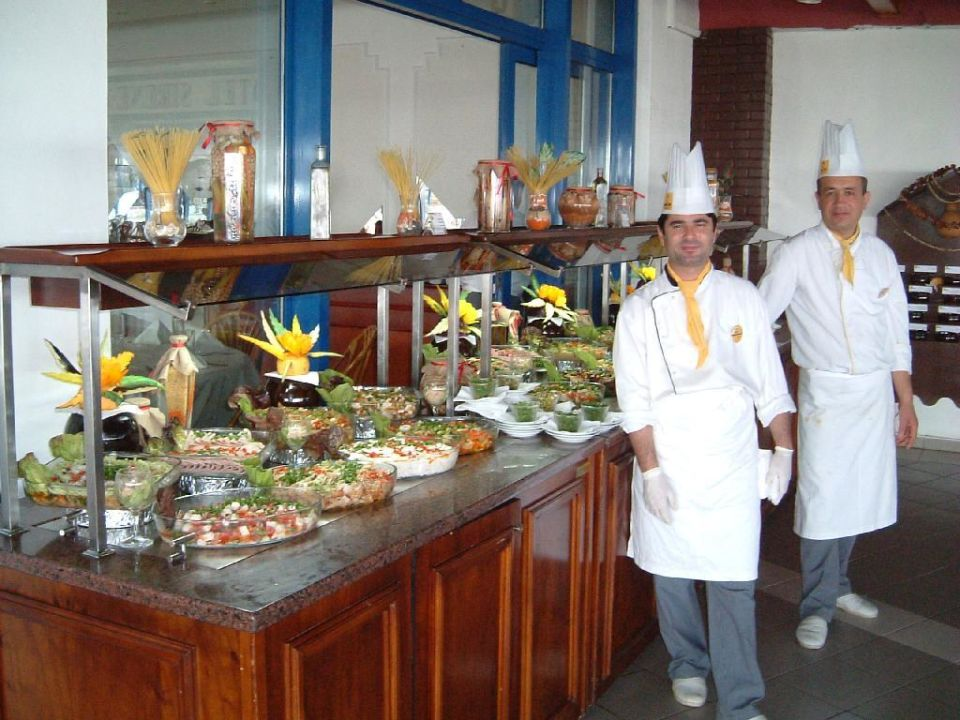Vorspeisenbuffet Green Max Hotel