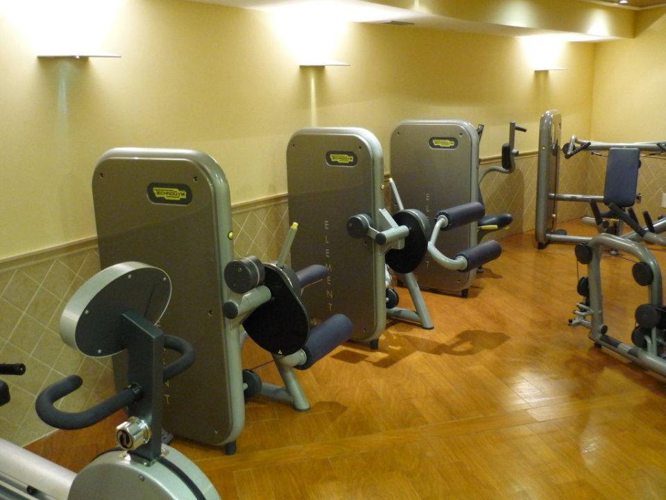 Der Fitnessraum Im Spa Bereich Hotel Playa Esperanza Platja De