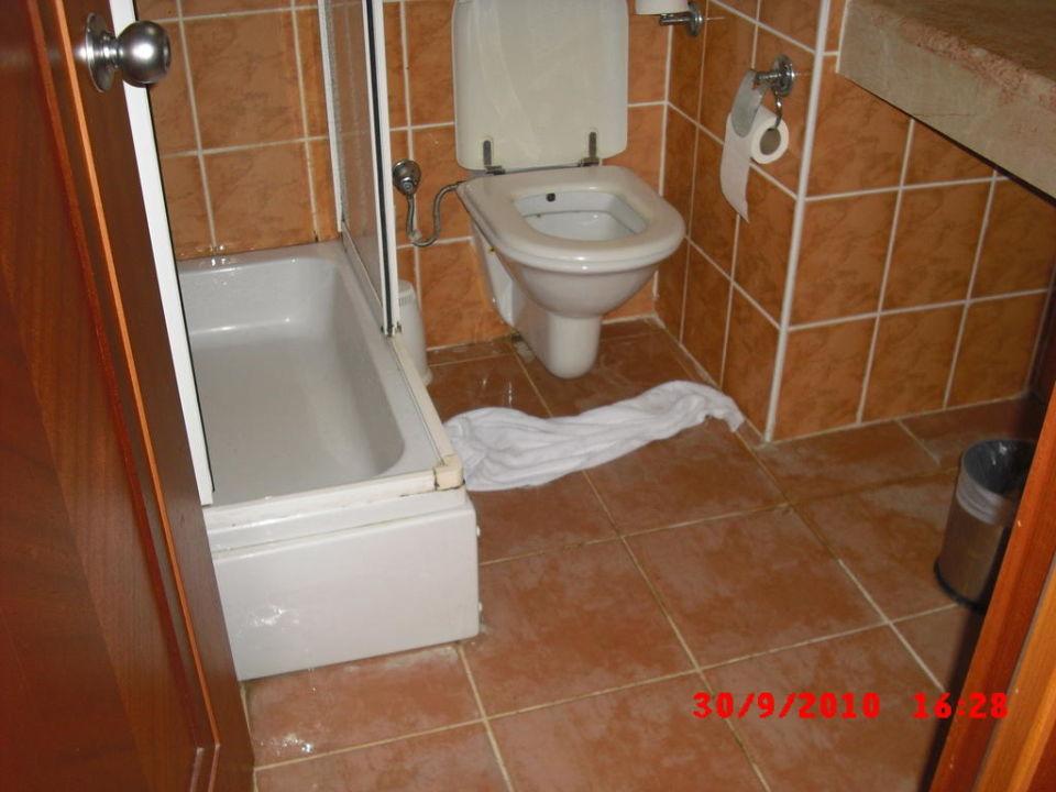 Toilette und Dusche Hotel Golden Age