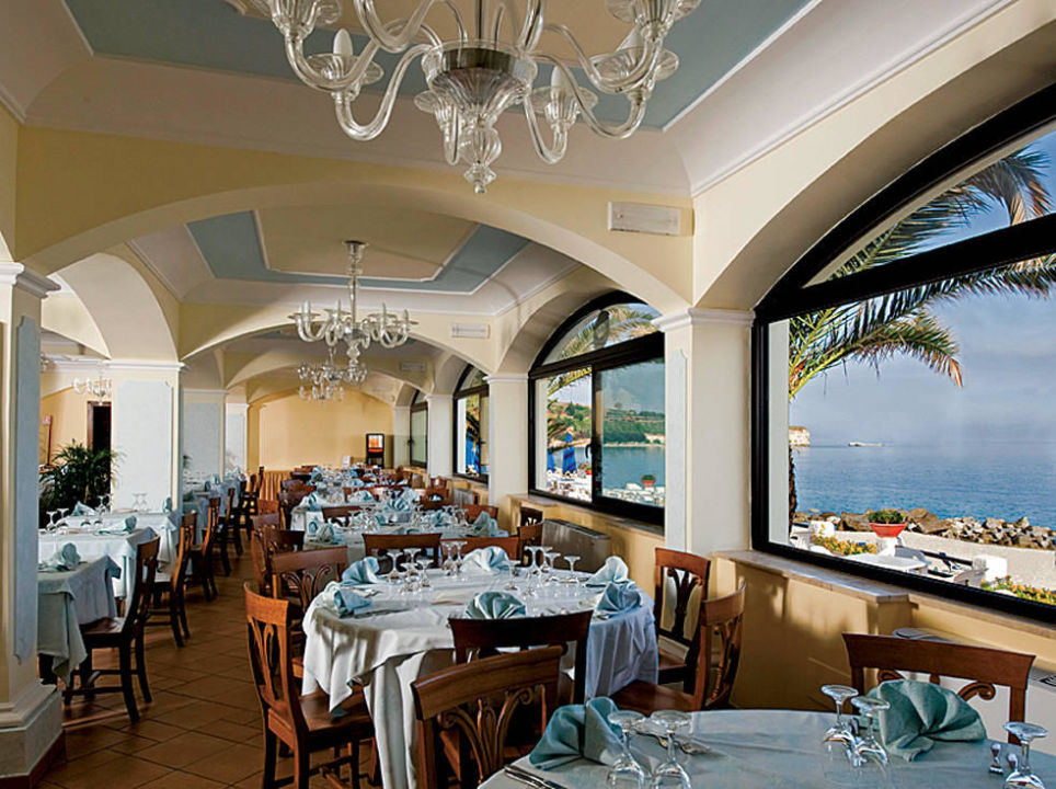 Sala Ristorante Hotel Lido San Giuseppe