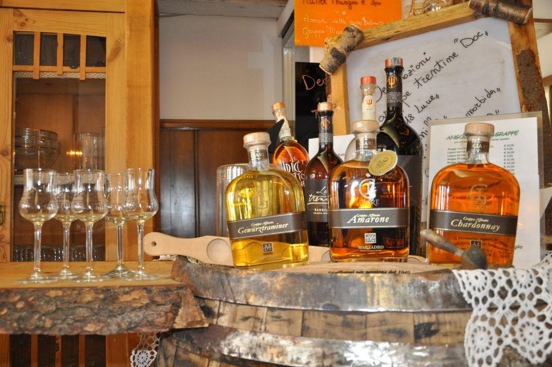 Bottiglieria di vino e grappe Hotel Sandro