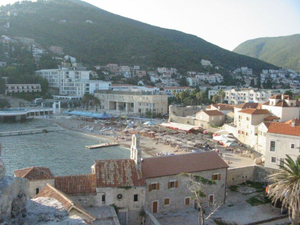 Strand in Budva Holiday Park Slovenska Plaza