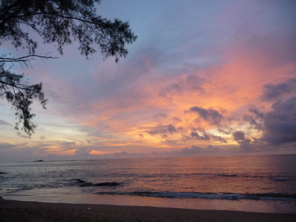 Sonneuntergang Khao Lak Merlin Resort