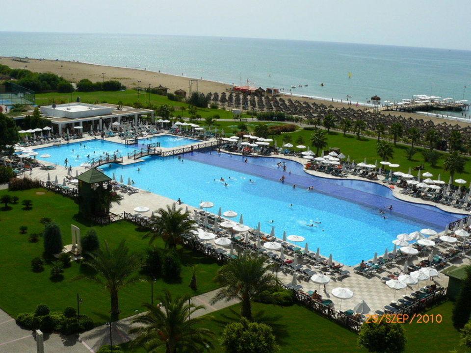 View and pool Voyage Belek Golf & Spa