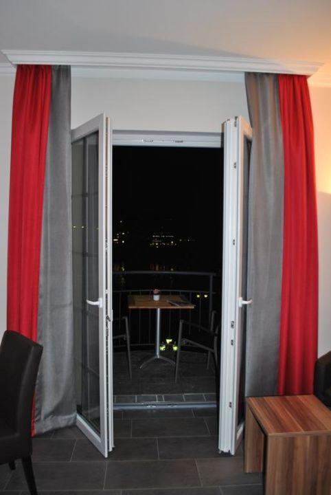 Nächtlicher Ausblick Hotel Cochemer Jung