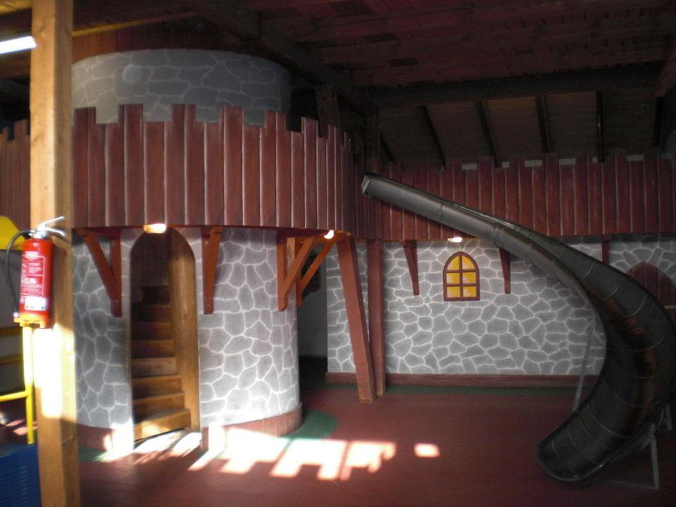 Spielscheune von innen Baby & Kinder Bio-Resort ULRICHSHOF