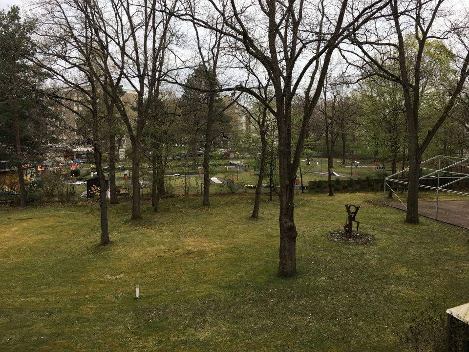 Ausblick Hotel Arvena Park