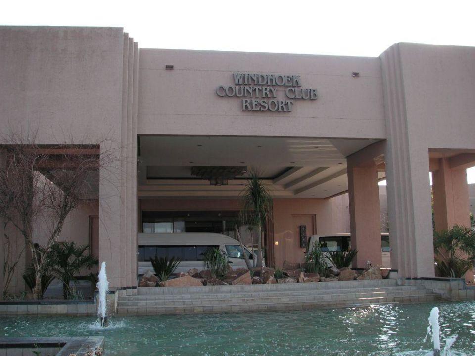 Eingangsbereich Hotel Windhoek Country Club Resort