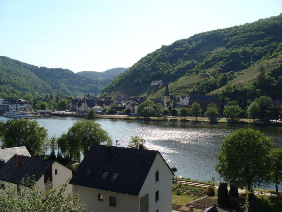 Blick aus dem Fenster Hotel Moselperle