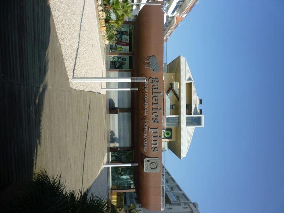 Außenansicht Strandseite Aparthotel Odissea Park