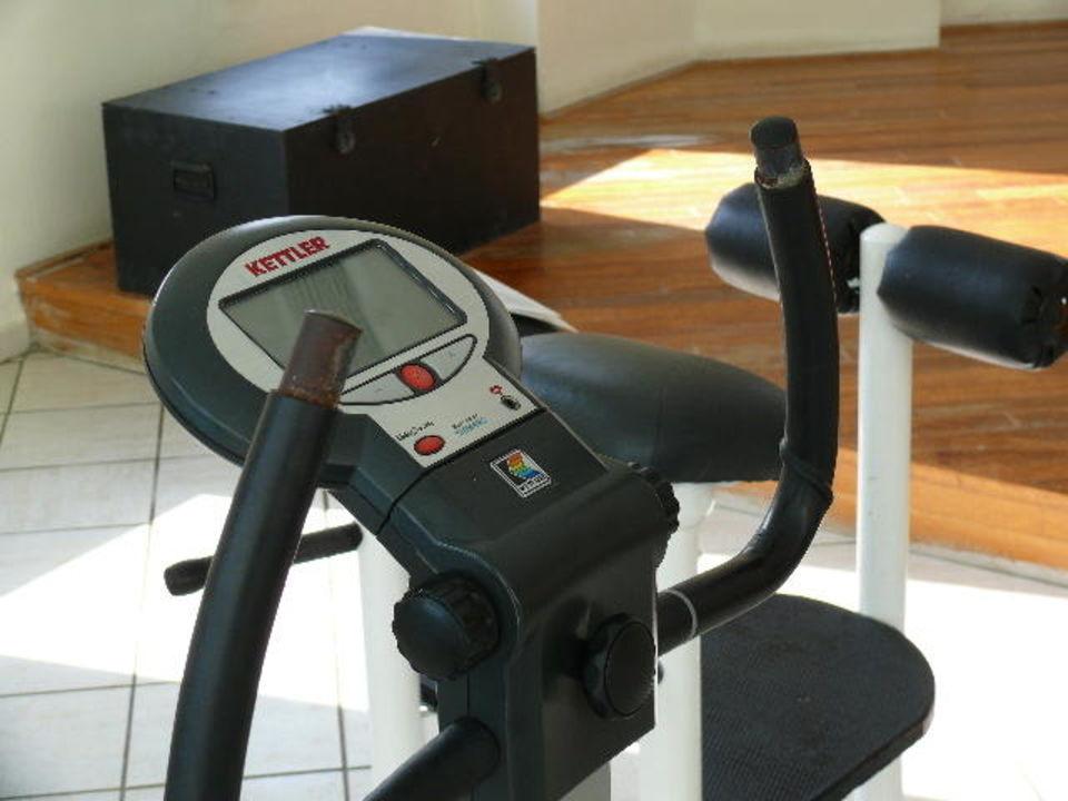 Ergonometer Fitnessraum Grecotel LUX ME Rhodos