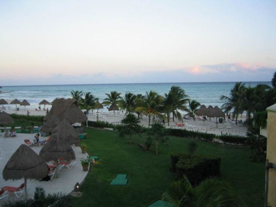 Strandblick am Abend Sandos Caracol Eco Resort