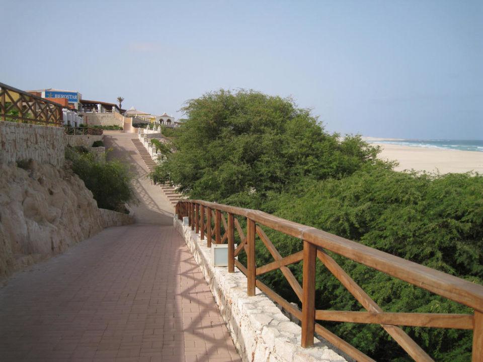 Rechter Weg zum Strand Iberostar Club Boa Vista