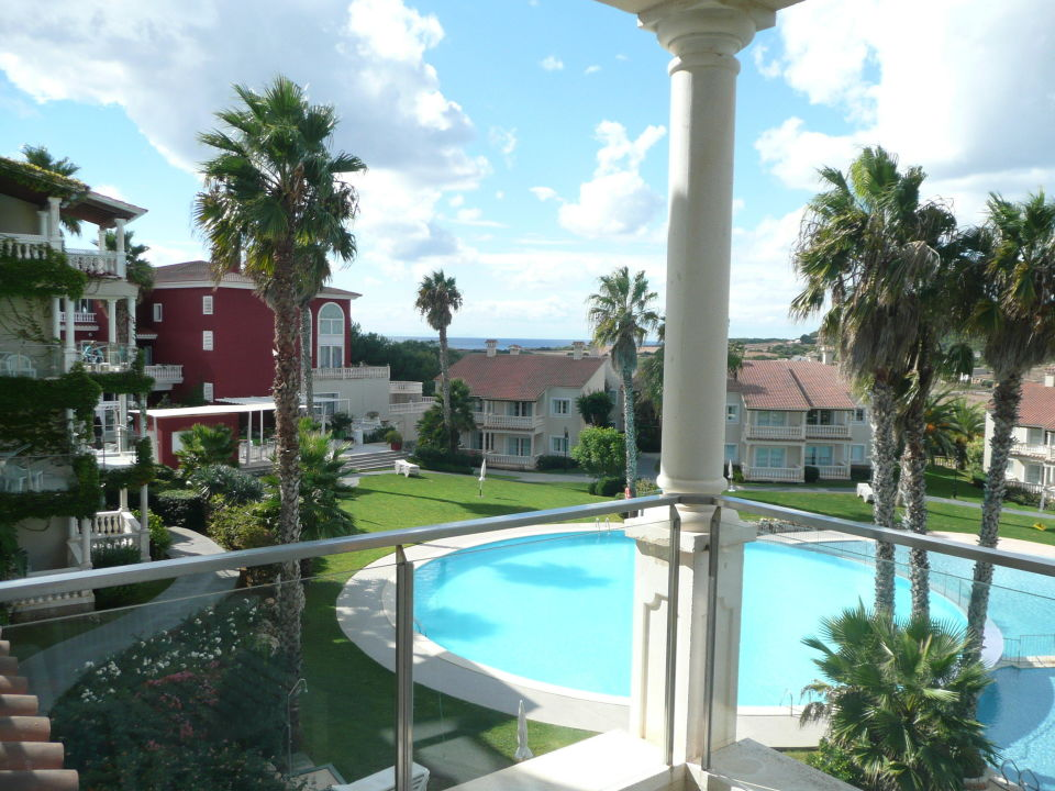 Blick aus dem zimmer aparthotel hg jardin de menorca for Aparthotel jardin de menorca